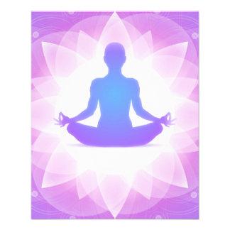 Yoga Meditation 11.5 Cm X 14 Cm Flyer