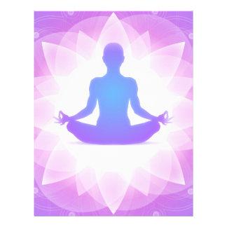 Yoga Meditation 21.5 Cm X 28 Cm Flyer