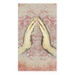 Yoga Meditation Healer Reiki  Business Cards