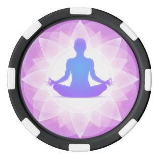 Yoga Meditation Poker Chips