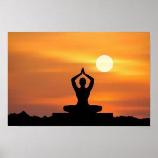 Yoga - Meditation Posters