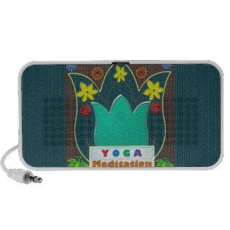 YOGA Meditation Script ART Mandala ShowCase GIFTS Notebook Speakers