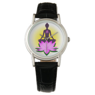 Yoga meditation wristwatches
