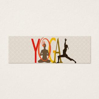 Yoga Mini Business Card