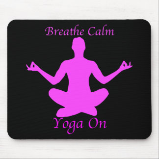 Yoga Mousepad Breathe Calm