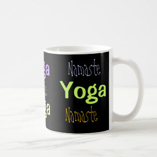 Yoga, Namaste Coffee Mugs