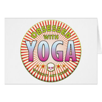 Yoga Obsessed R Card