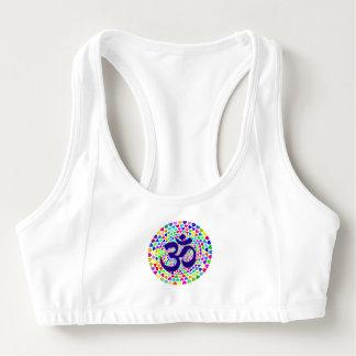 Yoga Om Heart Mandala Women's Sport Bra
