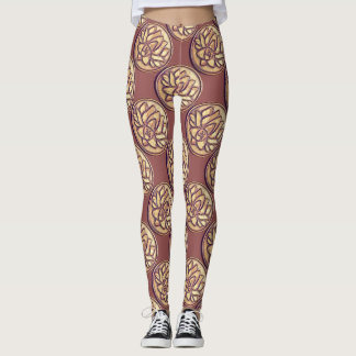 Yoga Om Symbol Leggings