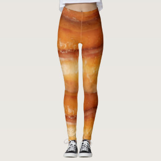 Yoga Pants Giant Cinnamon Roll Stretch Leggings