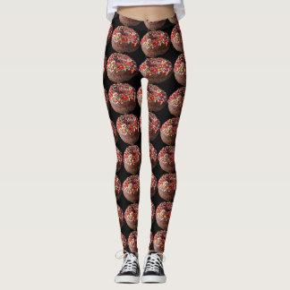 Yoga Pants Sprinkle Donut Leggings