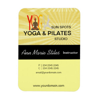Yoga Pilates Business Magnet
