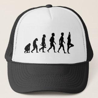Yoga Pilates meditation Workout Cardio evolution Trucker Hat