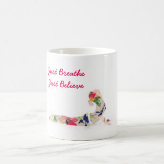 Yoga Pose Just Breathe Cup
