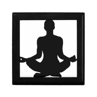 Yoga Pose Silhouette Gift Box