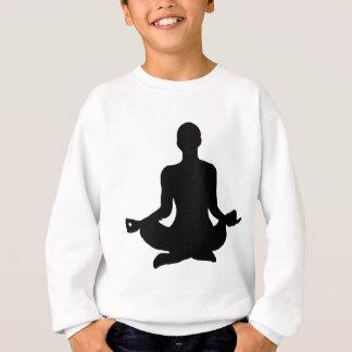 Yoga Pose Silhouette Sweatshirt