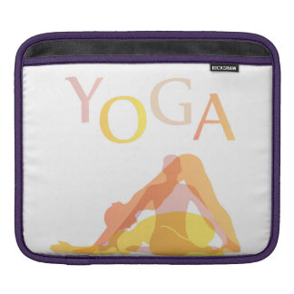 Yoga poses iPad sleeve