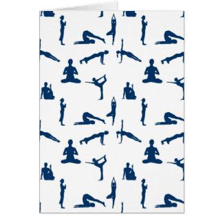 Yoga Positions Card