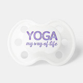 Yoga Purple Text Shiny Metallic Look Typography Dummy