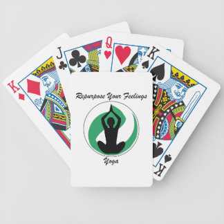 Yoga RepurposeFeelings Bicycle Playing Cards