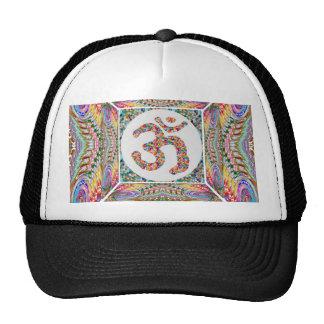 YOGA Room and OM Mantra at Back n Center Trucker Hat