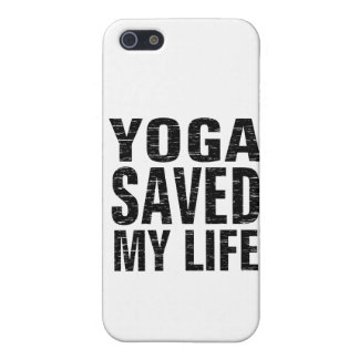 Yoga Saved My Life - iPhone 5 Case, Matte iPhone 5 Case