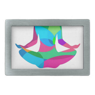 Yoga setting and fitness belt buckles