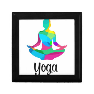 Yoga setting and fitness gift box