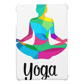 Yoga setting and fitness iPad mini covers
