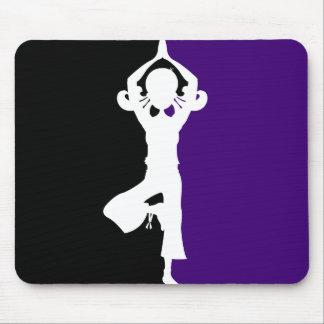 Yoga Silhouette Mousepad