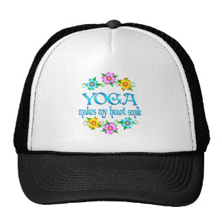 Yoga Smiles Mesh Hat