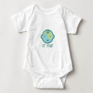 Yoga Speak Baby : Lil' Yogi Baby Bodysuit