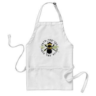 Yoga Speak : Save The Bee ... Save The World! Standard Apron