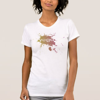 Yoga Speak : Yoga Paint Splatter T-Shirt