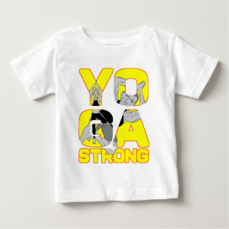 Yoga Strong Baby T-Shirt