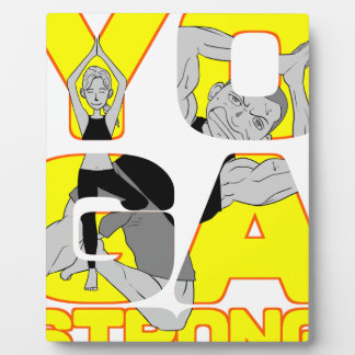 Yoga Strong Plaque