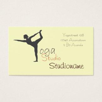 Yoga Studio or teacher buisness card