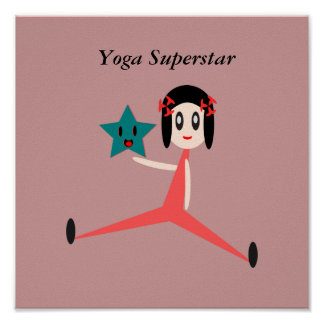 Yoga Superstar Poster