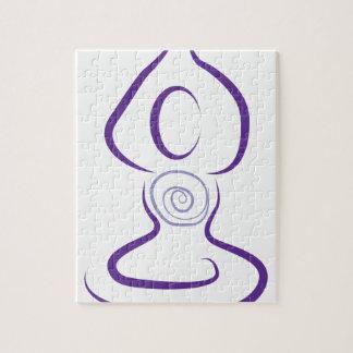 Yoga Symbol Jigsaw Puzzle