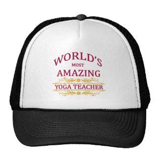 Yoga Teacher Hat