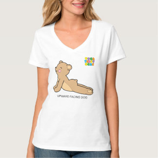 Yoga Teddy Bear Upward Dog / Downward Dog T-Shirt