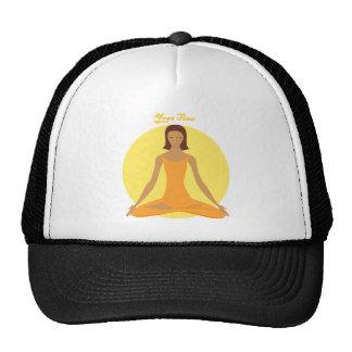 Yoga Time Mesh Hat