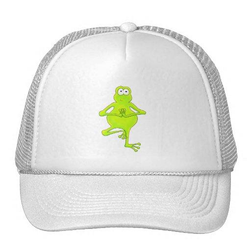 Yoga Tree Frog Mesh Hat