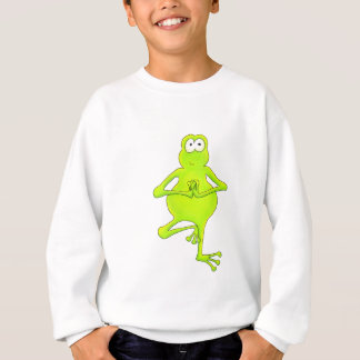 Yoga Tree Frog Sweatshirt