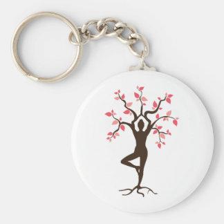 Yoga Tree Key Ring