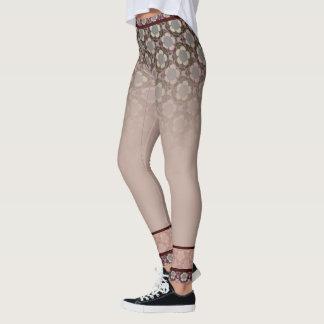 Yoga trousers old-pink Lotus Leggings