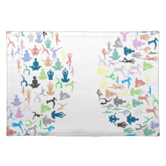 Yoga Typography Placemat