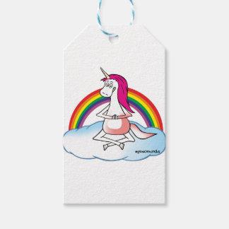 Yoga Unicorn Gift Tags