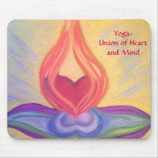 Yoga: Union of Heart and Mind mousepad