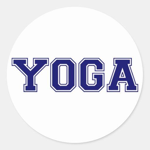 Yoga University Style Sticker